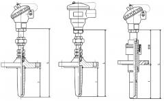 重油催化裂化装置耐磨热电偶