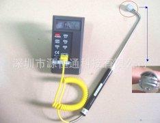 台湾泰仕温度计TES1310+NR81533B直角弯管热电偶